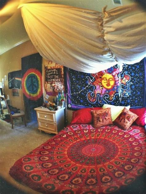 home decor bed sheets jewels hippie colorful bedding trippy home decor bag