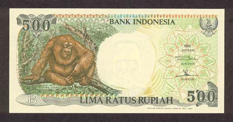 Uang Kuno Asli Lima Ratus Rupiah Orang Utan bukan harga teh botol yang naik rainbow