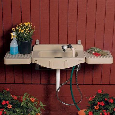 wall mounted outdoor garden sinks yard garden