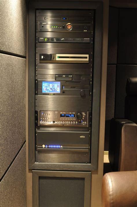 av home theater equipment rack images