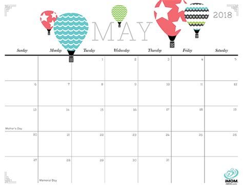 Calendar 2018 Imom And Crafty 2018 Calendar Imom