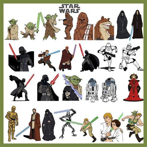 printable star wars characters star wars kids pinterest
