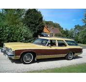 1973 Oldsmobile Catalina Safari Woody Wagon For Sale Front