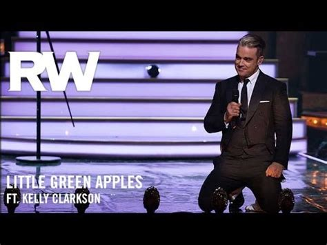 robbie williams swing youtube robbie williams ft kelly clarkson little green apples