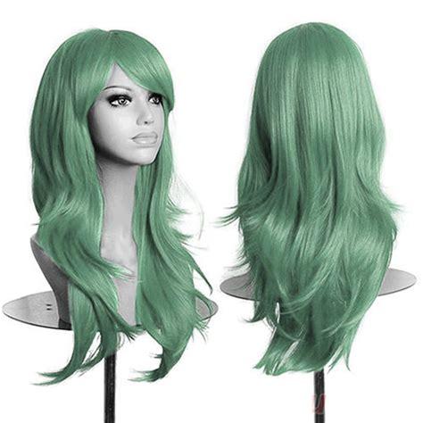 Wig 70 Cm Tsn 70cm womens anime wigs curly wavy hair wig at banggood