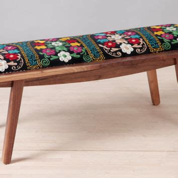 suzani bench name design studio on wanelo