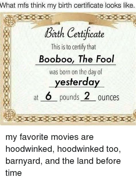 what does birth certificate look like what mfs think my birth certificate looks like birth