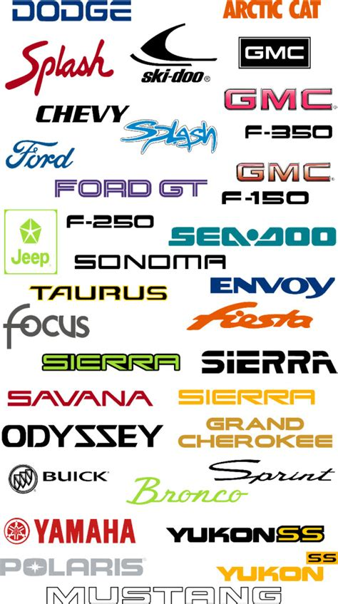 Outdoor Brand Stickers