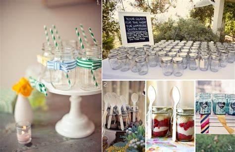 DIY wedding projects for vintage brides  mason jars, 1