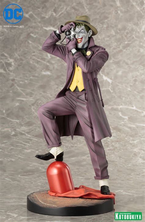 Artfx Pvc Statue Original Kotobukiya kotobukiya artfx the killing joke the joker 1 6 scale pvc statue comicwow review comicwow tv