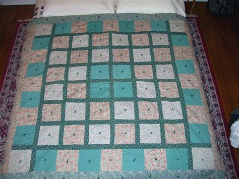 Tying Quilts With Embroidery Floss by Tying A Quilt Instead Of Quilting Page 7