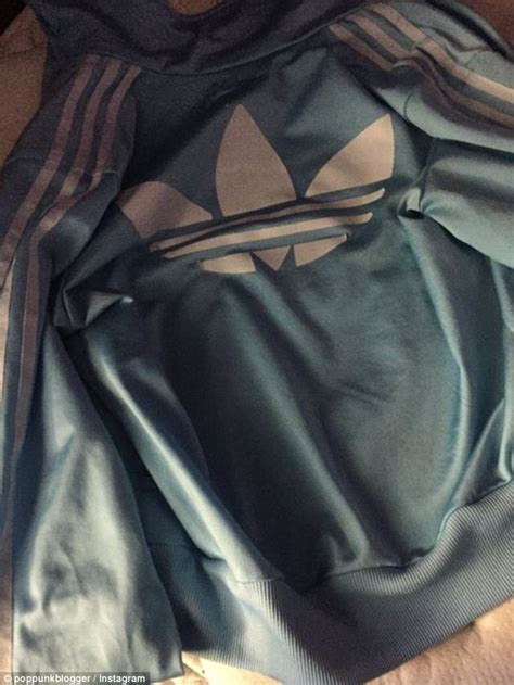 after the dress left the baffled this adidas jacket drives mad daily mail