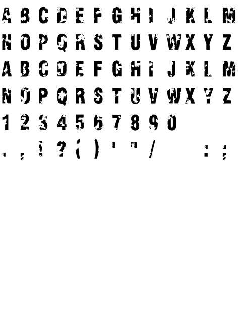 Viva Allende шрифт