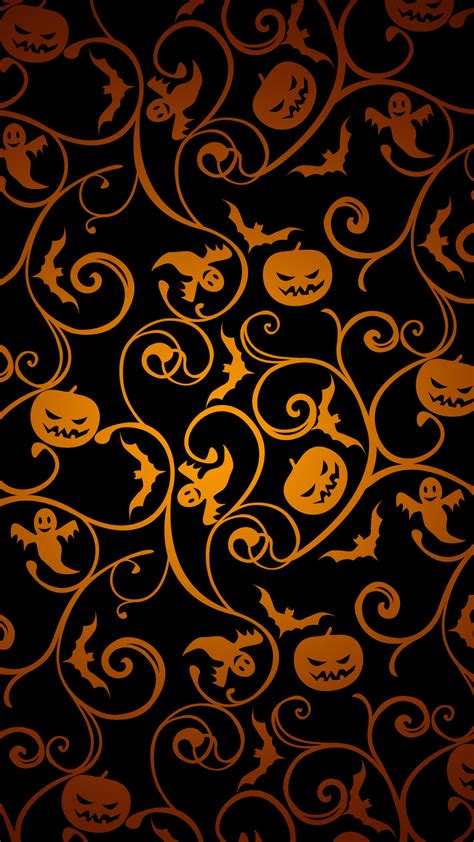 background pattern x theme halloween wallpapers iphone y android fondos de pantalla