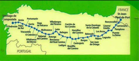 camino de santiago maps fundraiser by s camino
