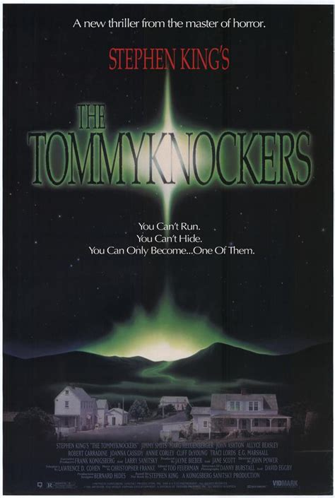 the tommyknockers the tommyknockers movie posters from movie poster shop