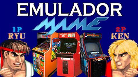 descargar emulador de arcade mame  pc