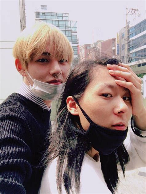 blackpink ex boyfriend bts v gets hearts dropping by uploading a selca with a