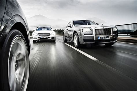 bentley benz revisited mercedes s600 vs rolls royce ghost sii vs