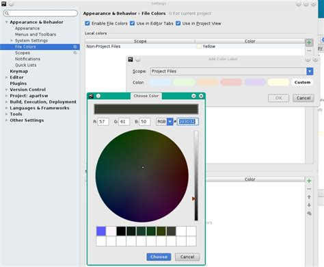 pycharm color schemes python pycharm linux how to change color scheme of