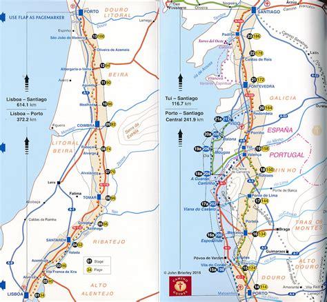 brierley camino pelgrimsroute wandelgids camino portugues