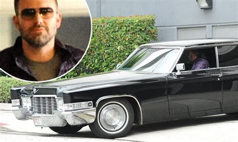 Ben Affleck To Sell Car From by Ben Affleck Takes His 1970 Black Cadillac For A Spin