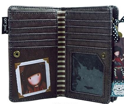 The Ruby Treasure Wallet From Nook by Gorjuss Gifts Moonstone Treasures