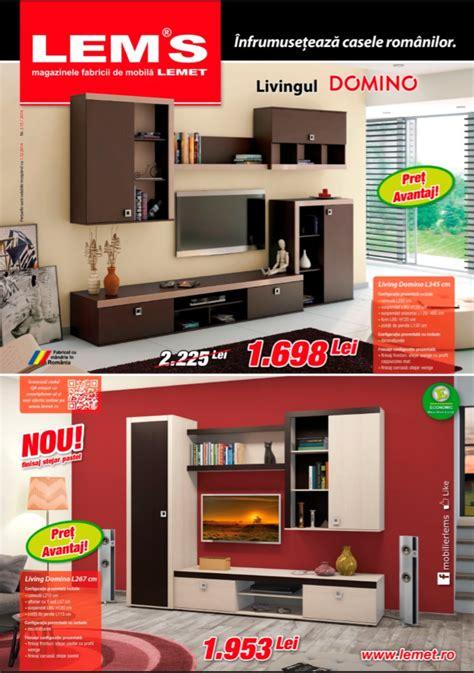 mobila lems catalog lems mobilier living domino 2015 catalog az