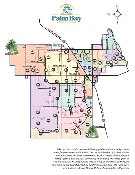 Bay County Florida Property Tax Records Palm Bay Map Vera L Koon