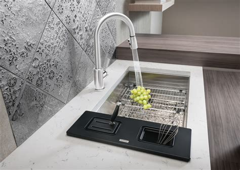 blanco quatrus accessories contemporary kitchen sink