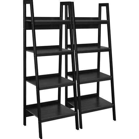 desk and bookcase set altra ladder bookcase set of black walmart com idolza