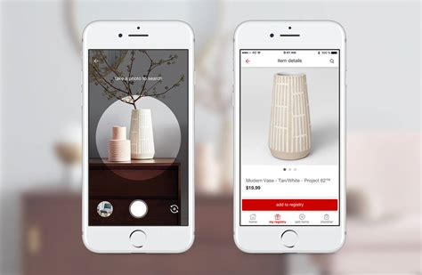 pinterest target target embedding pinterest camera search tool in its app wsj