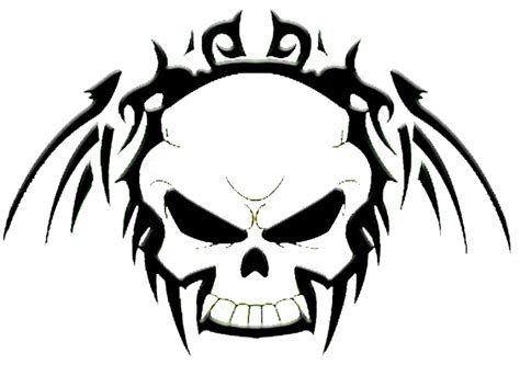black and white skull tattoos black and white skulls pics clipart best