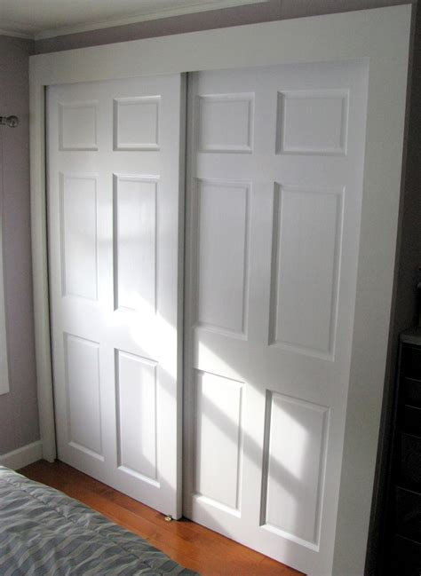 Creative Closet Doors Bypass Door Bypass Doors Great Idea For Locations Where You Don U0027t Want The Doors