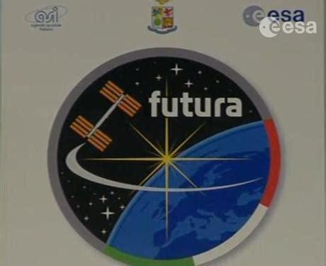 dirette futura futura il logo della missione di cristoforetti