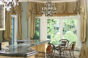 Kitchen bay bay window curtain treatments bay window kitchen