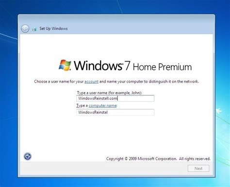 reset password windows vista home premium without disk reinstall and format of windows 7 home premium