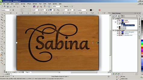 corel draw x6 effects create a chiseled effect in coreldraw graphics suite x6