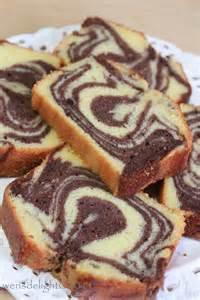 wen s delight rum amp sour cream marble cake