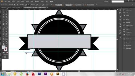 membuat logo adobe illustrator adobe illustrator cs6 tutorial cara membuat logo brand