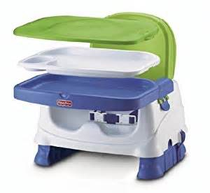 fisher price healthy care deluxe booster seat blue green gray