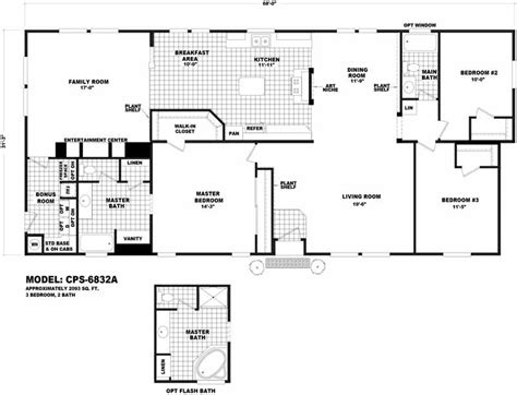cavco floor plans cps 6832a homes direct