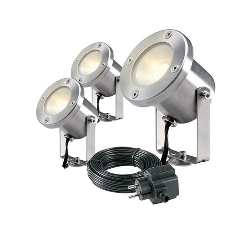 low voltage landscape lighting sets catalpa set low voltage garden lights spotlight 4121603