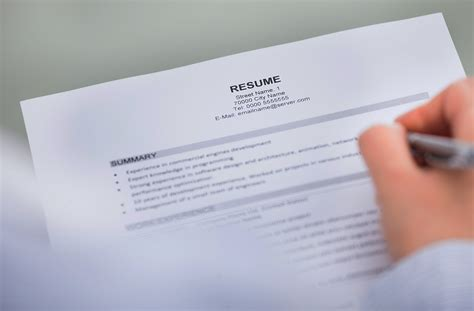 10 tips for creating a resume moaa career tips for writing an officer resume