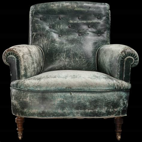 green leather armchair weathered green leather armchair at 1stdibs