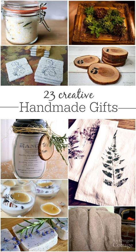 Creative Handmade Gifts - 25 unique meaningful gifts ideas on