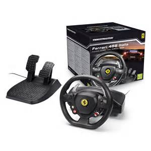 Thrustmaster 458 Italia Racing Wheel For Pc Xbox 360 458 Italia Racing Wheel Pc Xbox 360