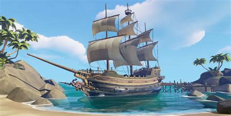 types of sea boats ships sea of thieves wiki