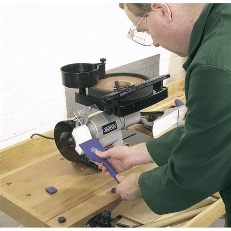 draper bench grinder draper 31235 bench grinder wet dry northern tools and