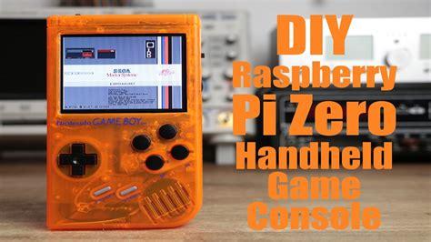 raspberry pi handheld gaming 2 diy raspberry pi zero handheld game console part 2 youtube